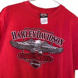 Harley-Davidson tee men's size large